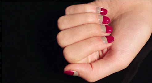 NEO-FRENCH MANICURE
